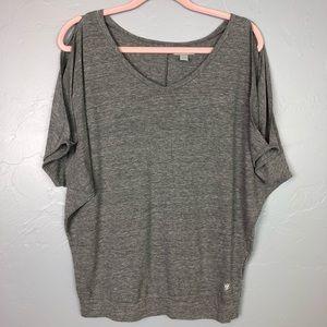 🐢Forever 21 cold shoulder blouse size L